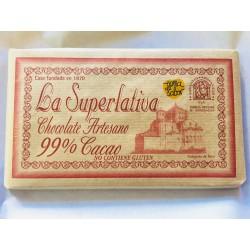 Chocolate 99% - Chocolates La Superlativa