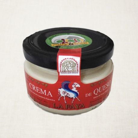 Crema de queso ecoogico La Faya